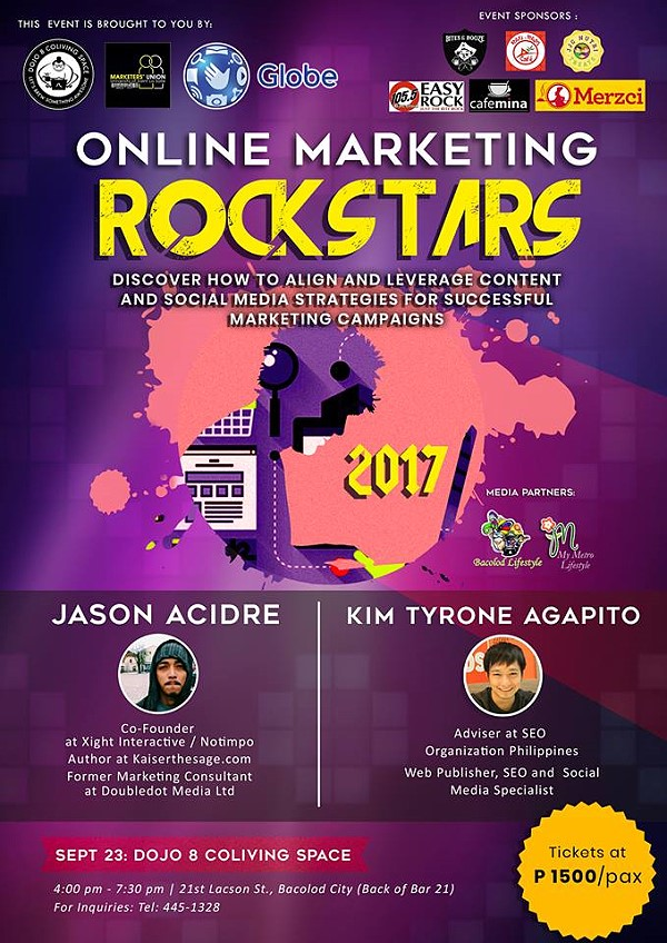 online marketing seminar