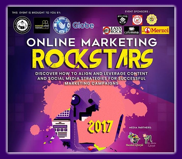 online marketing rockstars poster
