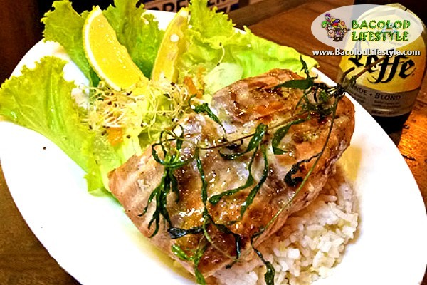 Herbed Grilled Pink Salmon