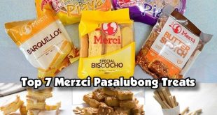 Top 7 Merzci Pasalubong Treats