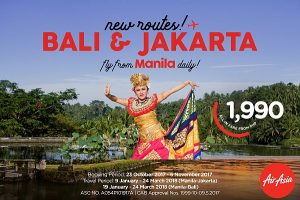 Air Asia Bali and Jakarta promo