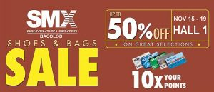 SMx Shoes and Bags SALE SMAC 10X POINTS