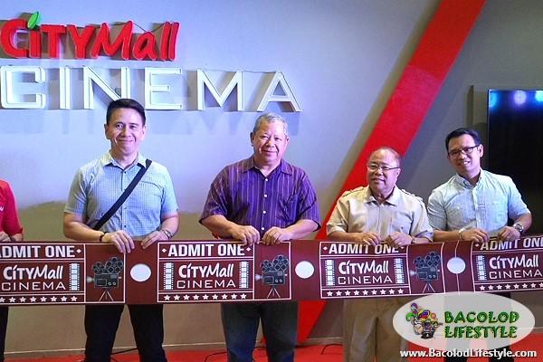 Citymall Cinema Mandalagan Bacolod ribbon cutting