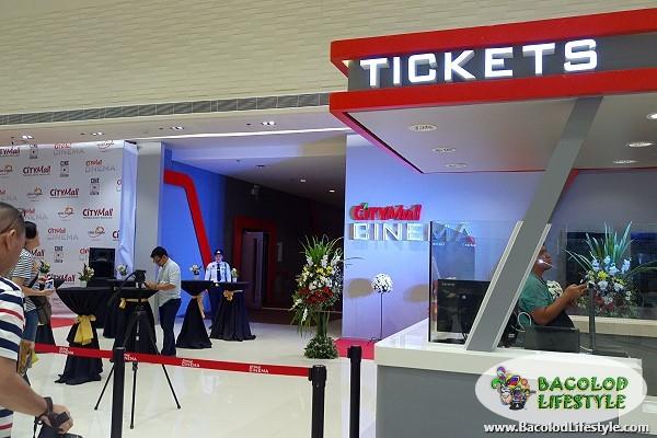 Citymall Cinema Mandalagan Bacolod ticket booth