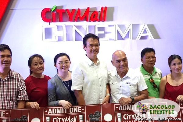 Citymall Cinema Victorias City ribbon cutting