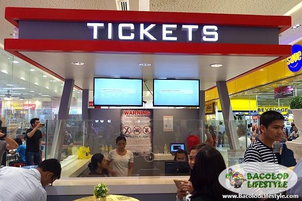 Citymall Cinema Victorias City ticket booth