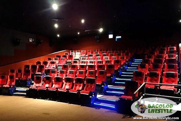 Citymall Cinema comfortable seats
