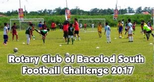 Rotary Club of Bacolod South Football Challenge 2017 - poster