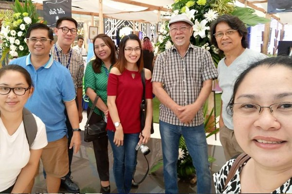 Negrense Bloggers at the Art Sale 2018 SM Bacolod