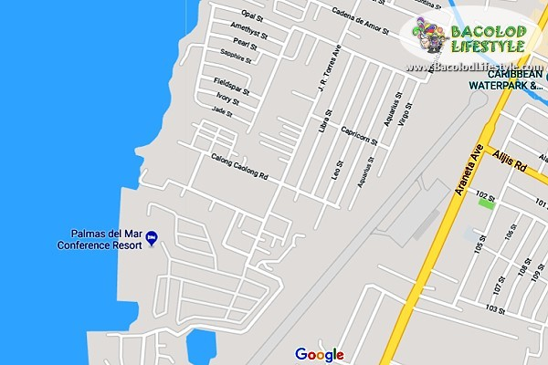 Palmas Del mar Resort Location Map