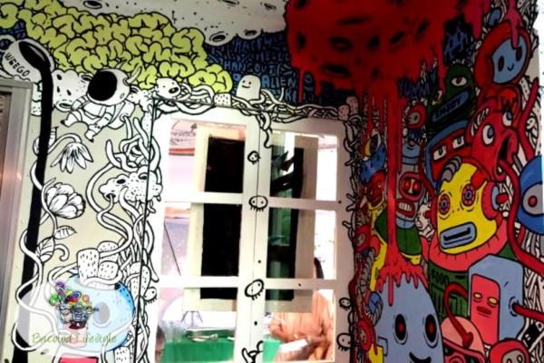 Weego Bistro - Window Art