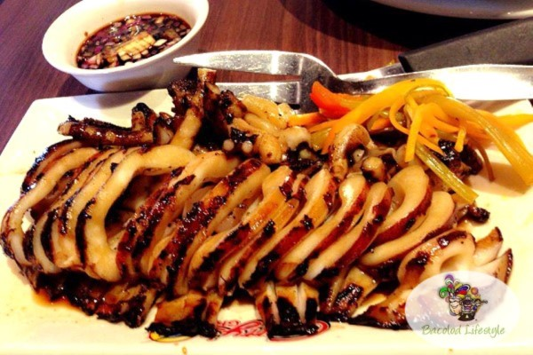 Gerry's Grill Inihaw na Pusit