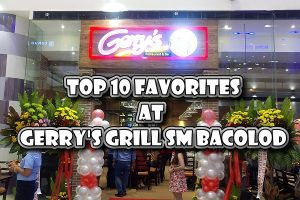 Gerry's Grill SM City Bacolod