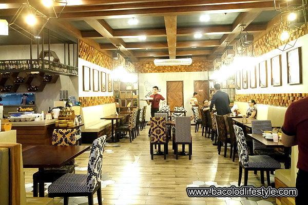 Peri Peri Charcoal Chicken Dining Area