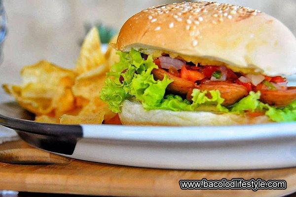 Peri-Peri Grande Chicken Burger