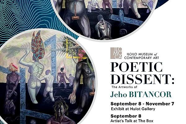 ILOMOCA hosts solo exhibit of US-based Filipino artist Jeho Bitancor