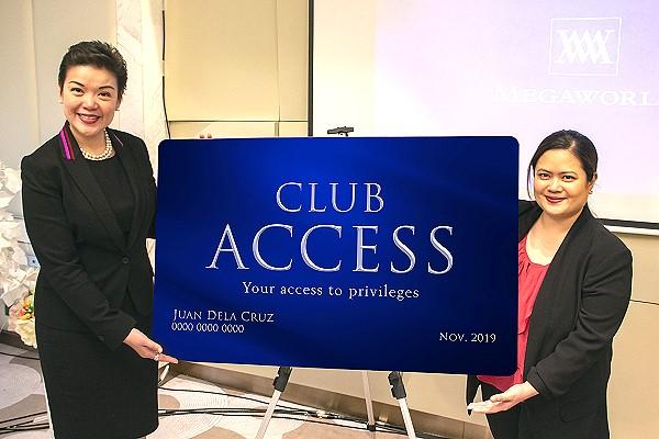 Megaworld Hotels CLUB ACCESS Card