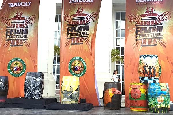 Rum Festival - Barrel Art Painting Competition