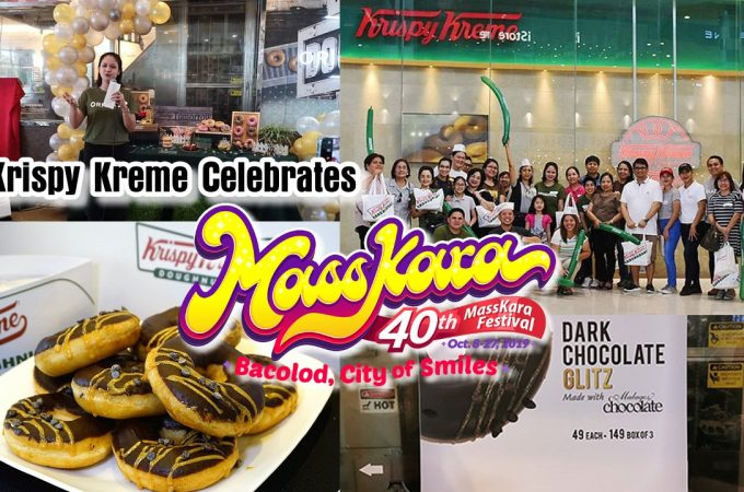 Krispy Kreme Celebrates Masskara Festival 2019