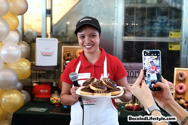 Krispy Kreme Celebrates Masskara Festival 2019 unveils Dark Chocolate Glitz