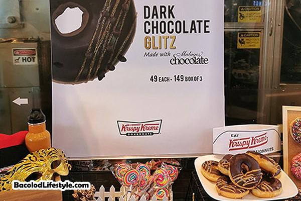 Krispy Kreme Dark Chocolate Glitz Masskara Festival 2019