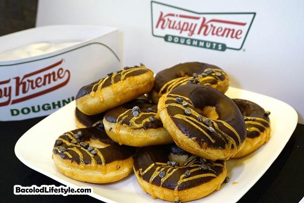Krispy Kreme Dark Chocolate Glitz