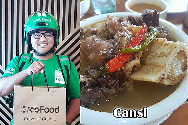 Cansi with GrabFood