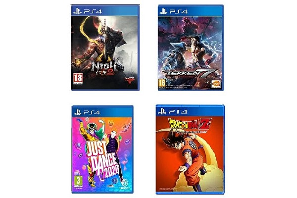 PS4 various home video games