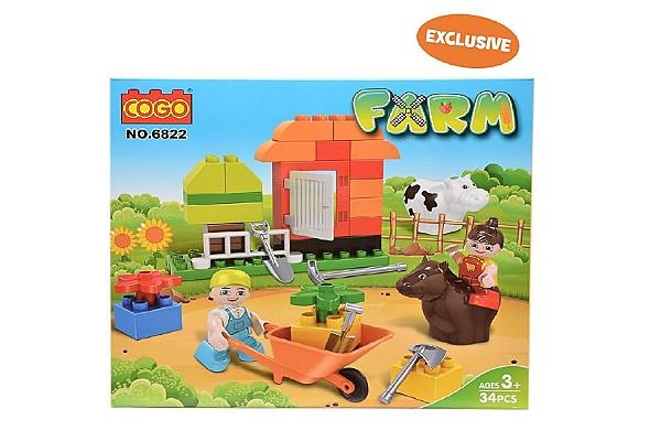 Cogo's farm themed playset