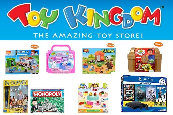 Indoor Summer Fun at Toy Kingdom!