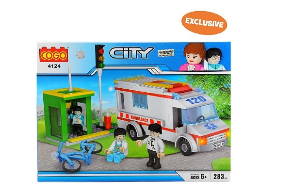 Cogo's City playset