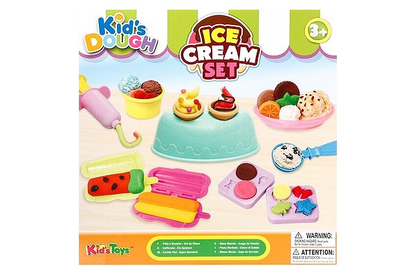 Kid's Dough Ice Cream playset from Toy Kingdom
