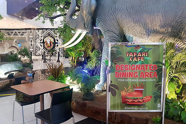 SM City Bacolod Safari Cafe