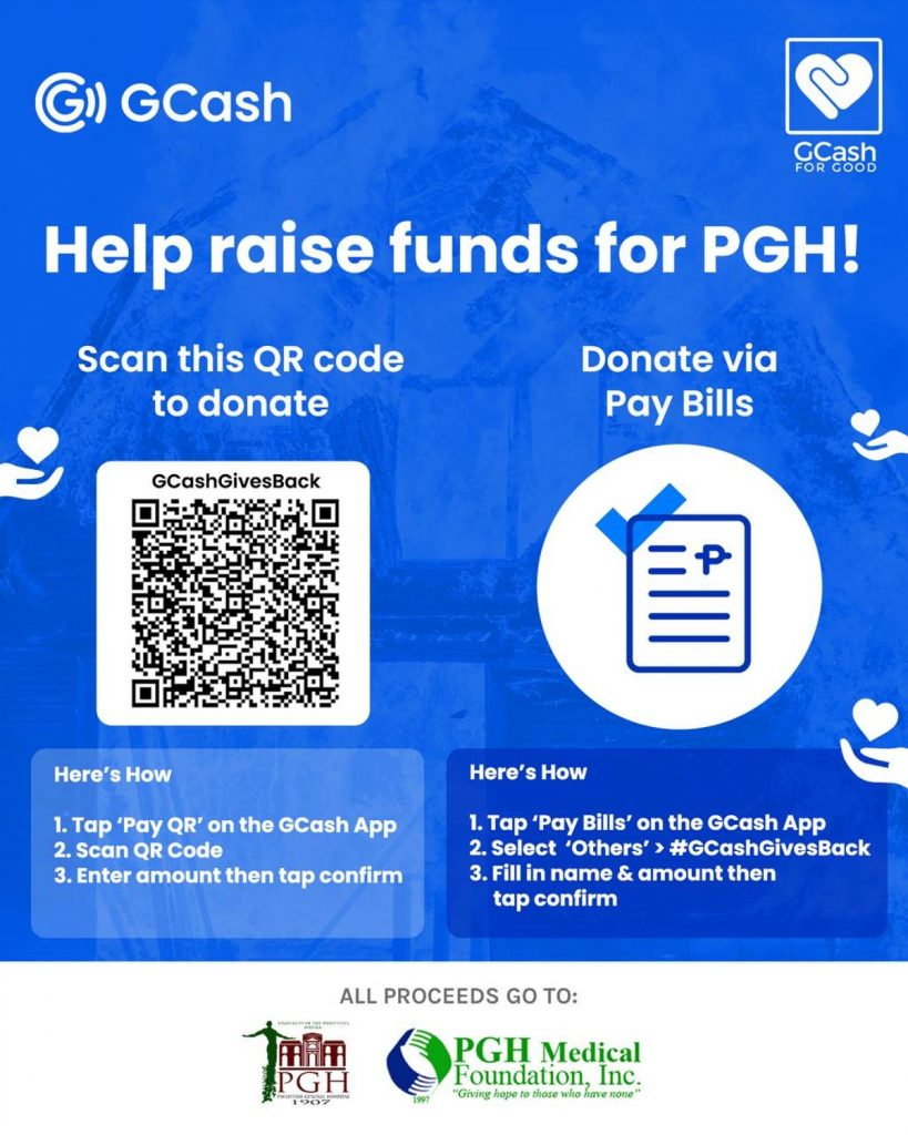 GCash '#Givesback' donation drive yields P1.87M for Philippine General Hospital