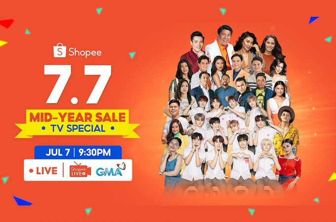 Win 7M Worth of Prizes at Shopee 77 Sale TV Special
