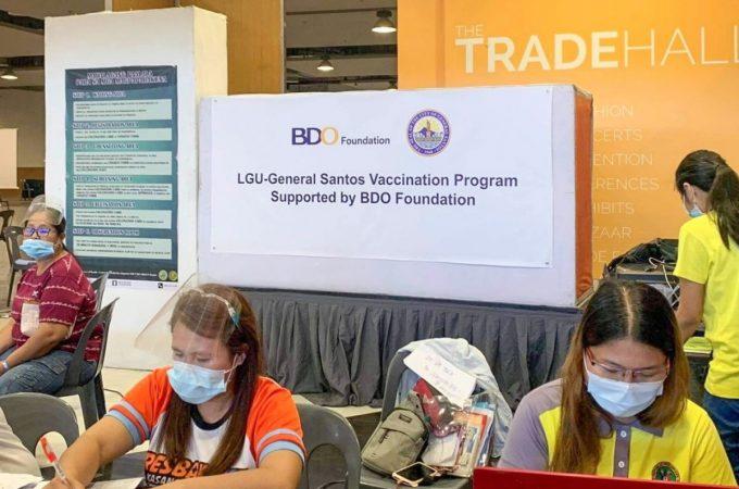 BDO Foundation backs GenSan and Iloilo vaccination