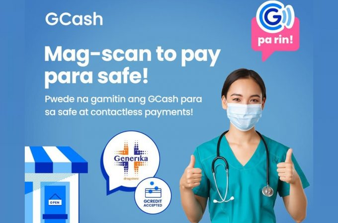 GCash and Generika Drugstore offer cashless payment for medicine