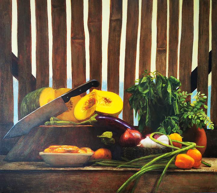 Marge Chavez. Laswa. Painting1