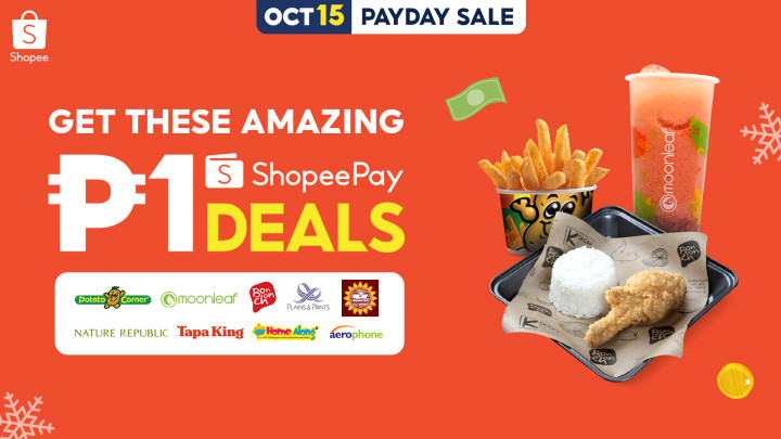 ShopeePay Payday Sale 10 15 21